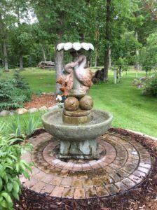 Custom Concrete Fountain